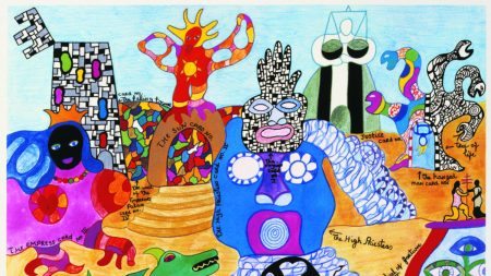 Niki de Saint Phalle, 'Tarot Garden,'