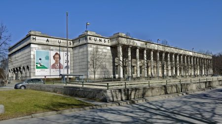 The Haus der Kunst.