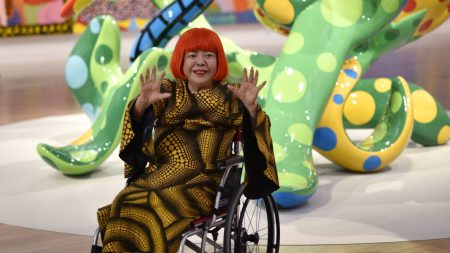 Yayoi Kusama Work to Macy's Thanksgiving