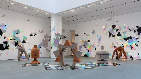 MoMA Atrium Hosts Potent New Performance-Installation