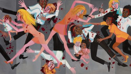 Faith Ringgold, American People Series #20: