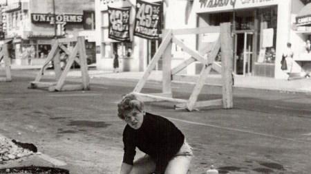 Gillian Jagger in New York, 1964