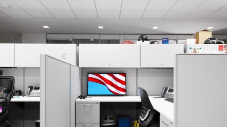 Above Ground Zero, an Office Cubicle