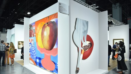 Gagosian booth, Art Basel Miami Beach