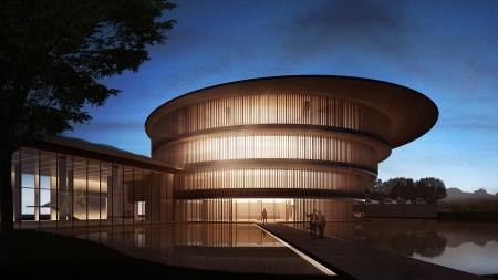 He Art Museum rendering
