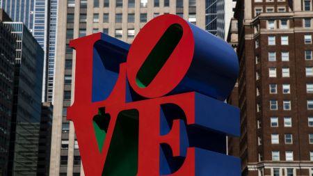 Robert Indiana's 'LOVE' sculpture in Philadelphia