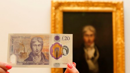 The new £20 note featuring J.M.W.