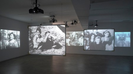 "View of the exhibition ""Kidnappers Foil,"""