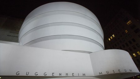 Exterior of the Solomon R. Guggenheim