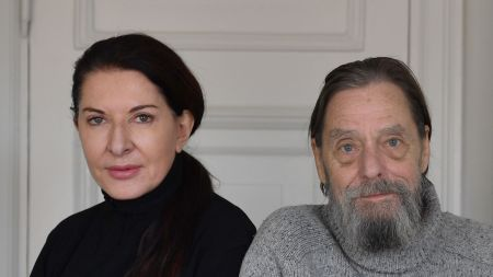 Marina Abramovic and Ulay.