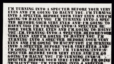 Glenn Ligon, Untitled (I'm Turning Into