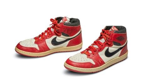 Michael Jordan's 1985 Nike Air Jordans