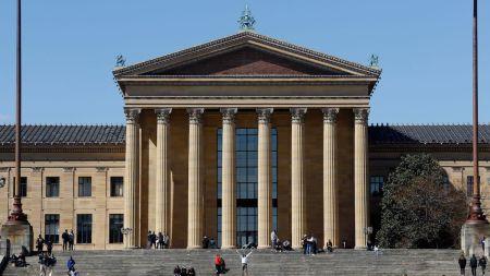 The Philadelphia Museum of Art.