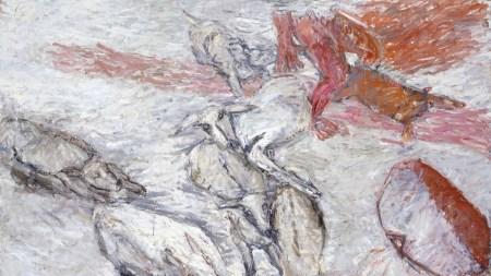 Susan Rothenberg, 'White Deer', 1999–2001.