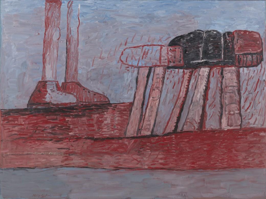 Philip Guston, 'Lower Level,' 1975, oil