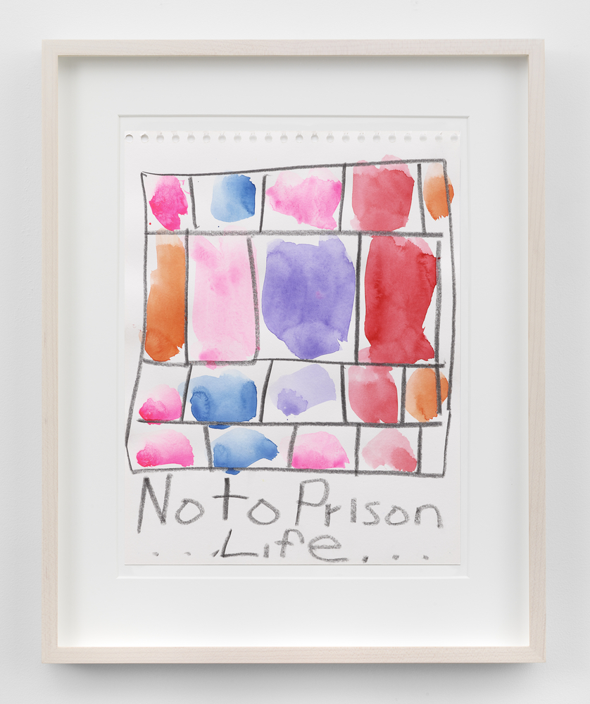 Stanley Whitney Untitled (No to Prison
