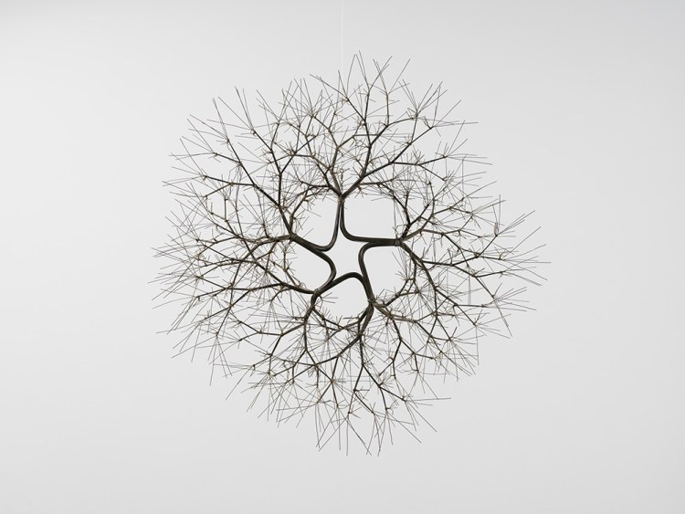 Ruth Asawa, 'Untitled (S.452, Hanging Tied-Wire, Five-Branched Form Based on Nature),' ca. 1965