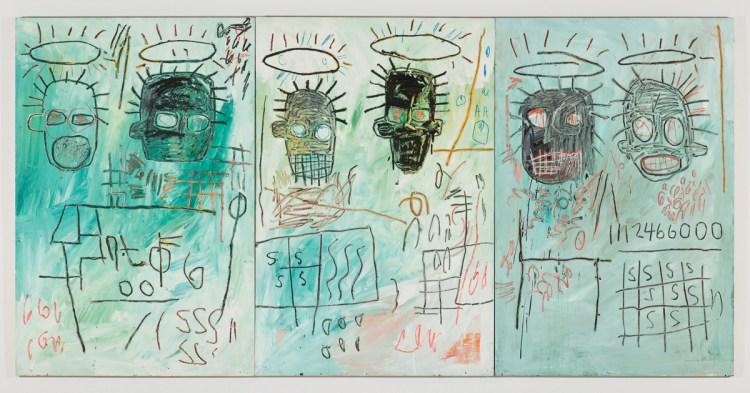 Jean-Michel Basquiat, Six Crimee, 1982.