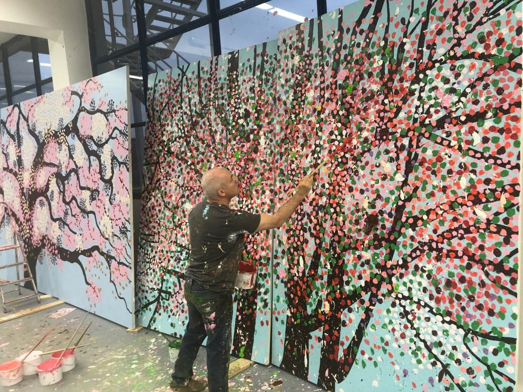 Damien Hirst 'Cherry Blossoms', 2020.