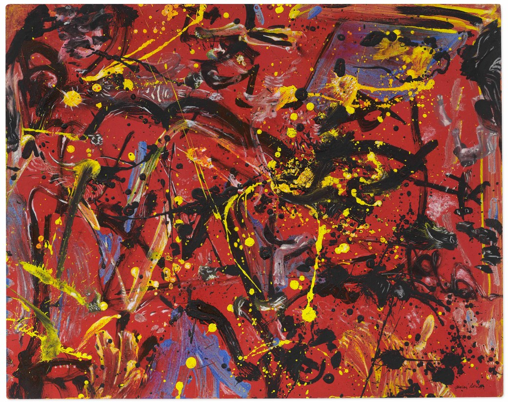 Jackson Pollock, 'Red Composition', 1946.