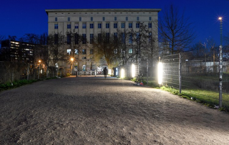 Berlin's Berghain nightclub, where Karen and Christian Boros put works on display from their collection.
