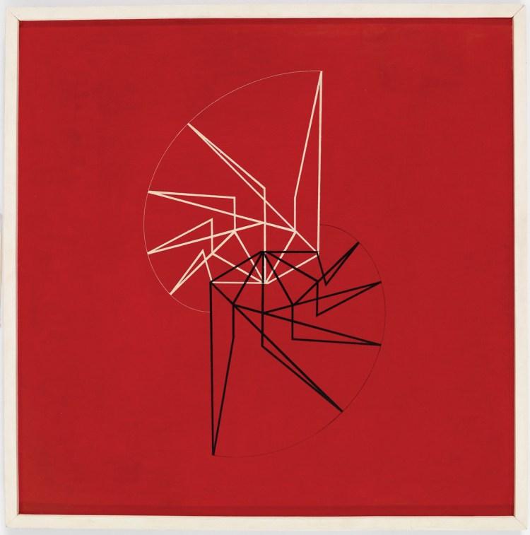 Waldemar Cordeiro, Visible Idea, 1956.
