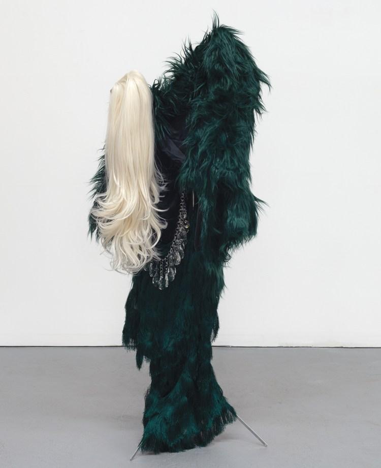 Kayode Ojo, Overdressed (Green), 2020.