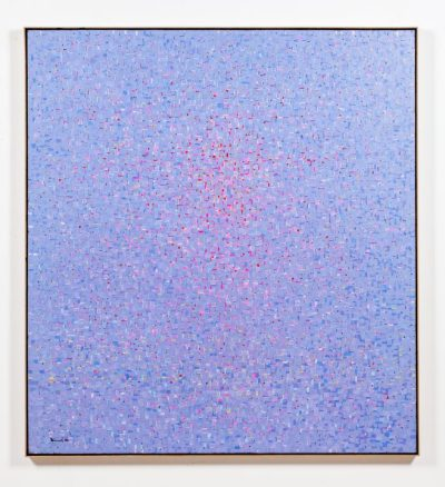 Young-il Ahn, 'Water SM187,' 1987. Oil on canvas, 60 x 55 in.