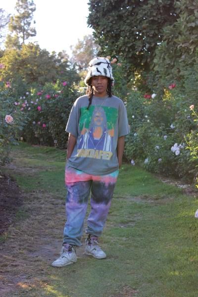 Portrait of artist and activist Lauren Halsey, founder of Summaeverythang.