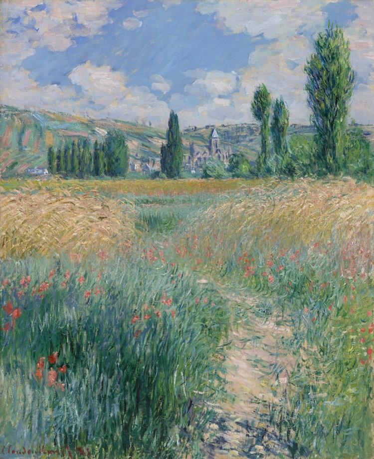 Claude Monet, 'Path on the Island of Saint Martin, Vétheuil,' 1881, oil on canvas.