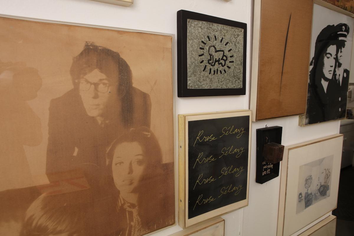 Christo and Jeanne-Claude's studio.