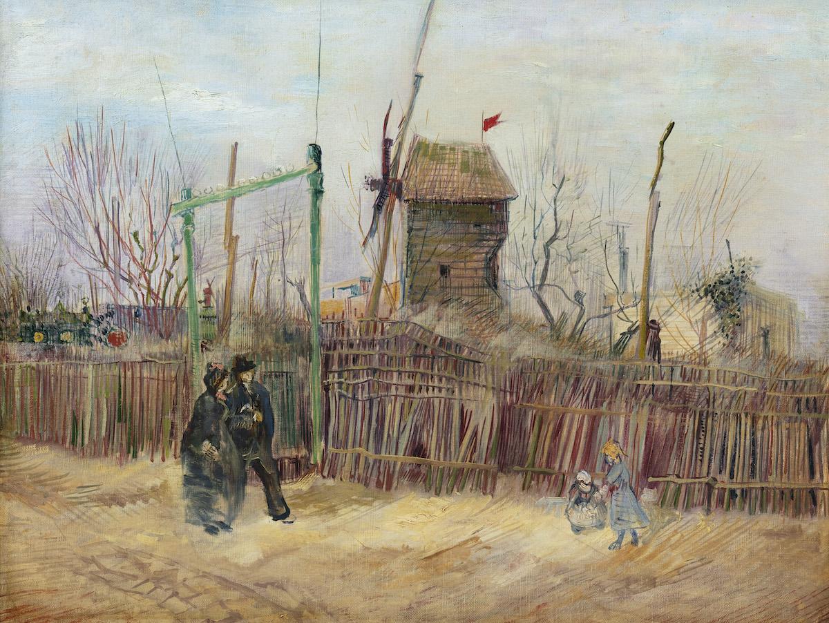 Vincent van Gogh, 'Scène de rue