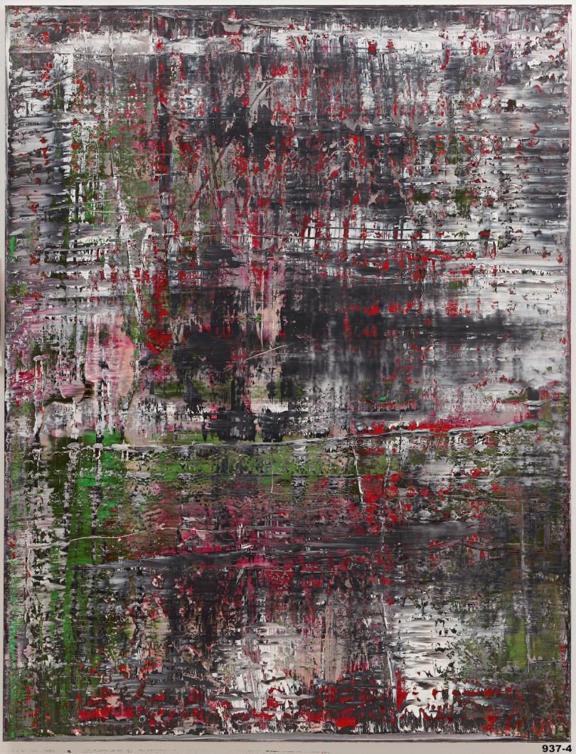 Gerhard Richter, 'Birkenau', 2014.