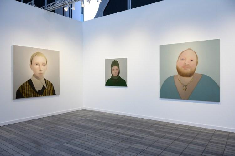 Photograph by Casey KelbaughLondon's Stephen Friedman Gallery showed work by Sarah Ball.