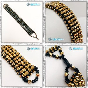 GOLD STRIKE Crystal Bracelet