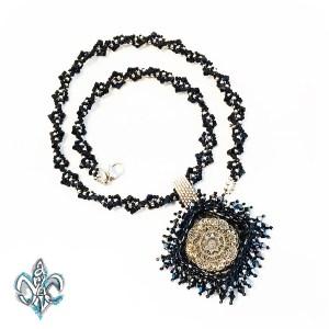 BRILLIANT Square Cabachon Necklace