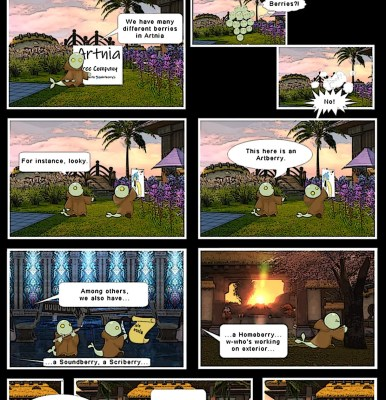 Artnia's Comic