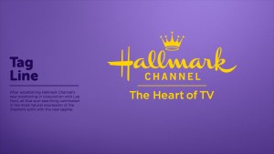 Hallmark Channel brand identity by Loyal Kaspar