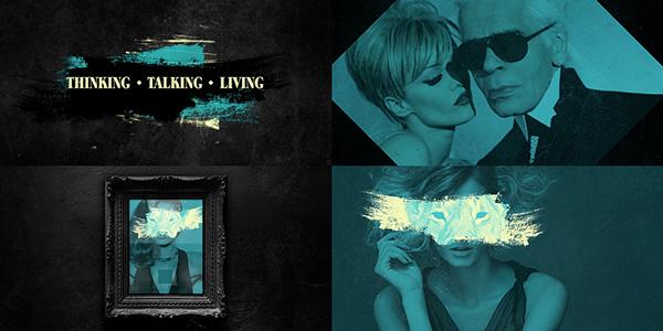 Fashion TV channel branding by Helio Vega