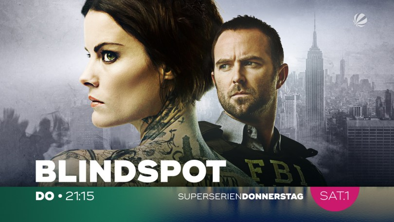 BlindSpot series promo at Sat1 Channel