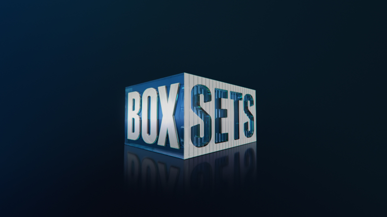 Box Sets channel branding by Ink Project, Australia