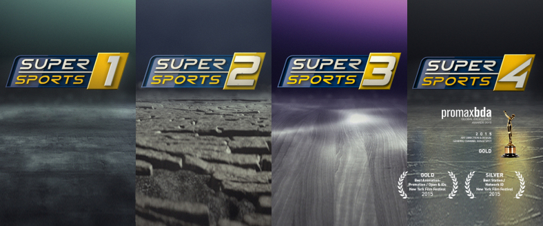 Supersports 1 channel branding by VividThree Productions