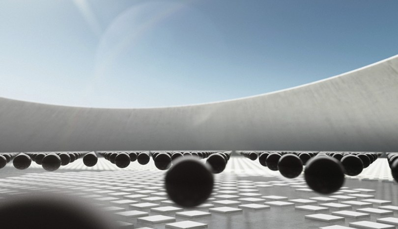 CNEX bouncing ball ident by JL Design and Korb