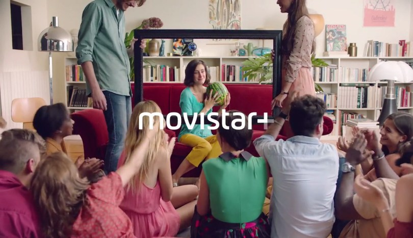 movistar+ tv channel branding