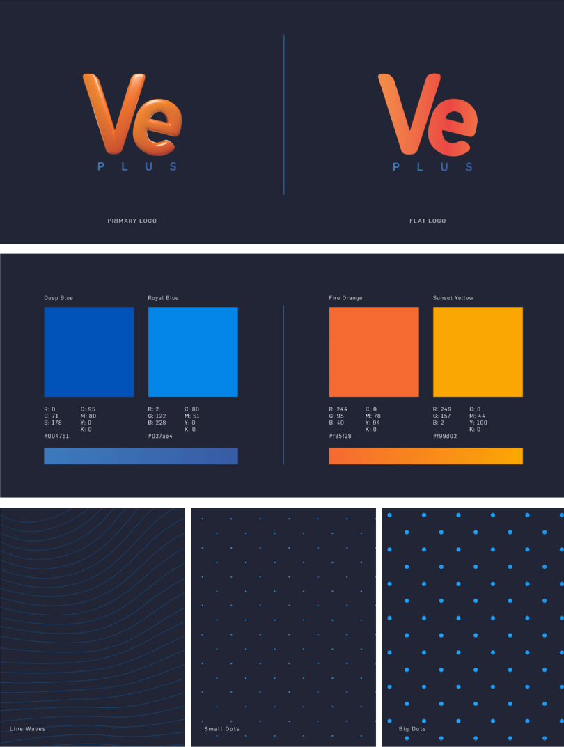 VE PLUS TV rebrand by Viewpoint Creative