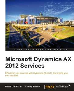 Microsoft Dynamics AX 2012 Services front cover