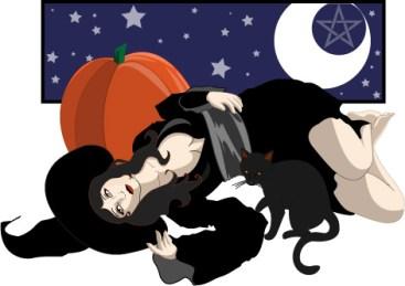 Samhain Witch