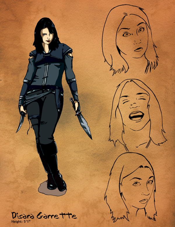 Disara Concept Sketch