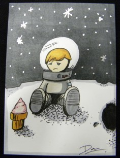 Sad Astronaut Boy