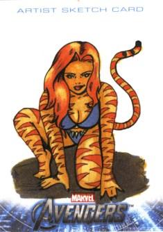 Tigra Sketchcard